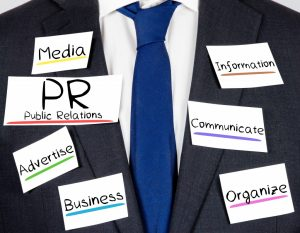 Business Suit with PR Paper Cards